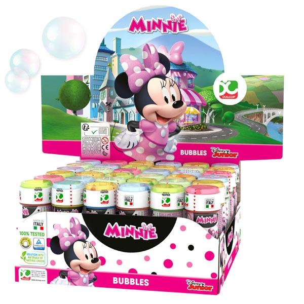 Großpack Minnie Maus Seifenblasen, 36 Stk, mit Geduldspiel