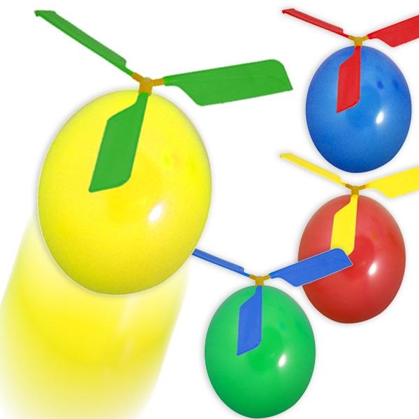Bastelset für Ballon-Helikopter, mit 2 Ballons