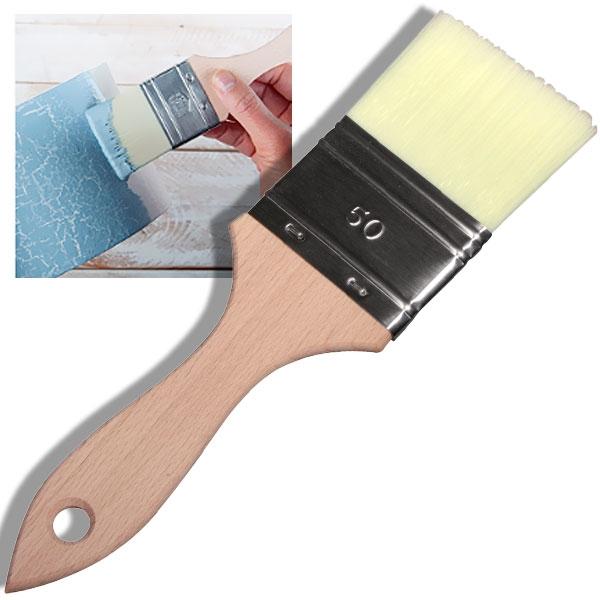 Breitpinsel mit extra weichen Synthetikfasern, Gr. 50, flach, für Chalky Farben