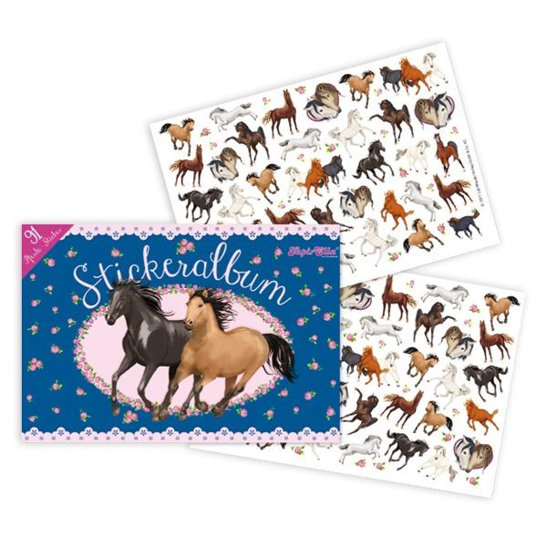 Pferde Stickeralbum+Sticker 21cm