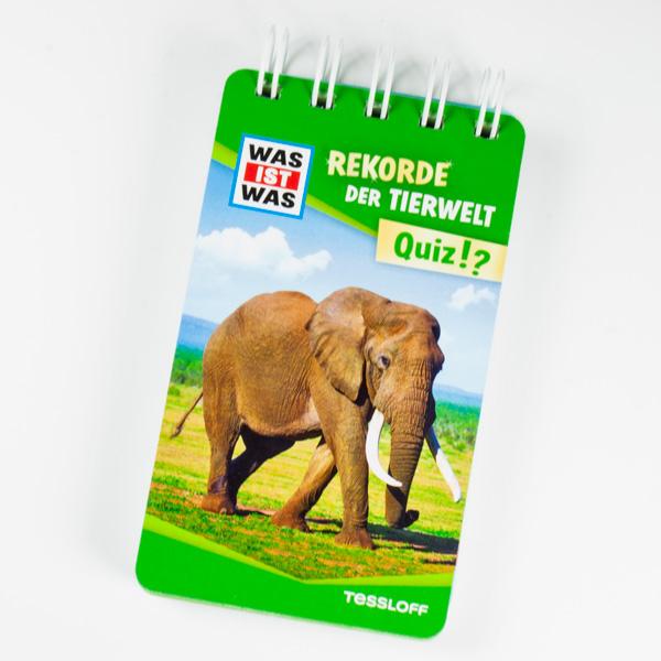 WAS IST WAS Quizblock-Rekorde der Tierwelt mit Antworten