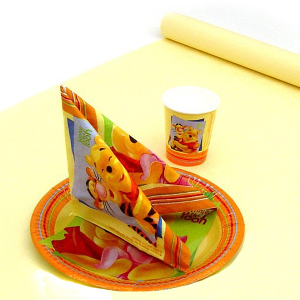 Tischdecke cremefarben auf Rolle in tollem Damastdesign, Papier 8x1,2m