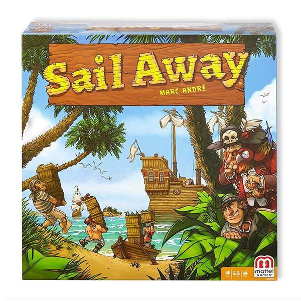 Sail Away, Brettspiel von Mattel