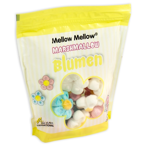 "Marshmallows ""Bunte Blumen"", 125g Beutel"