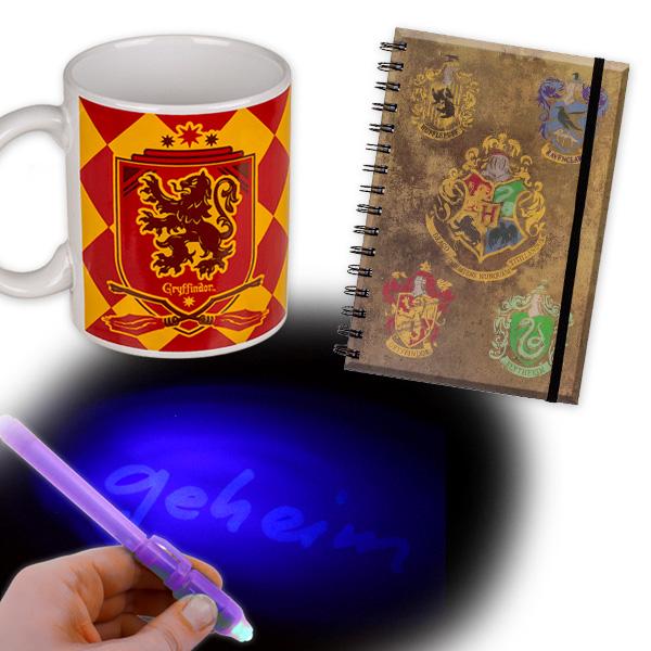 Harry Potter Geschenkeset, 3-teilig