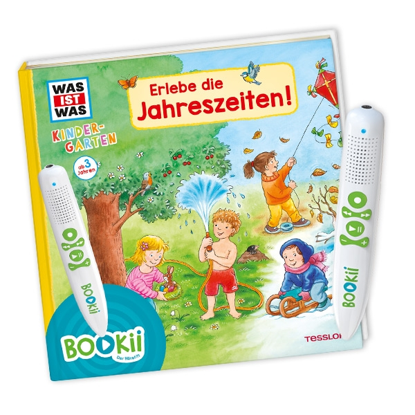 """BOOKii Starter Set, """"Erlebe die Jahreszeiten"""", von WAS IST WAS Kindergarten"""