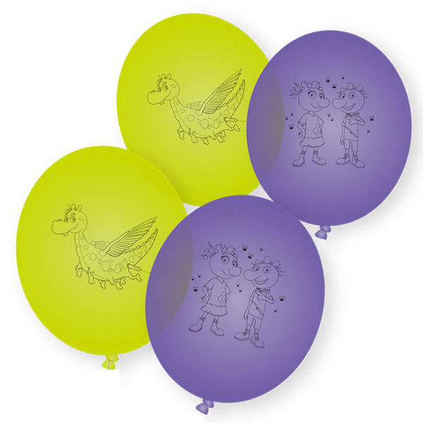 Die Olchis Luftballons, 8er Pack