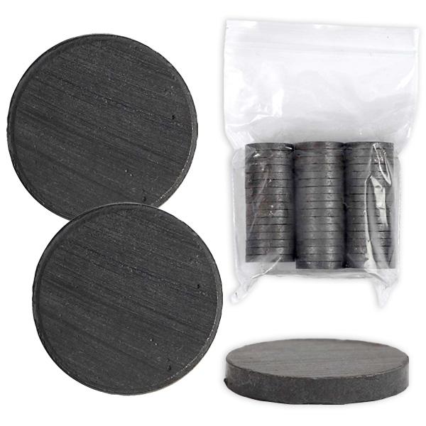 Magnete zum Basteln, 50 Stk, 20mm, starke Anziehung, gute Haftung
