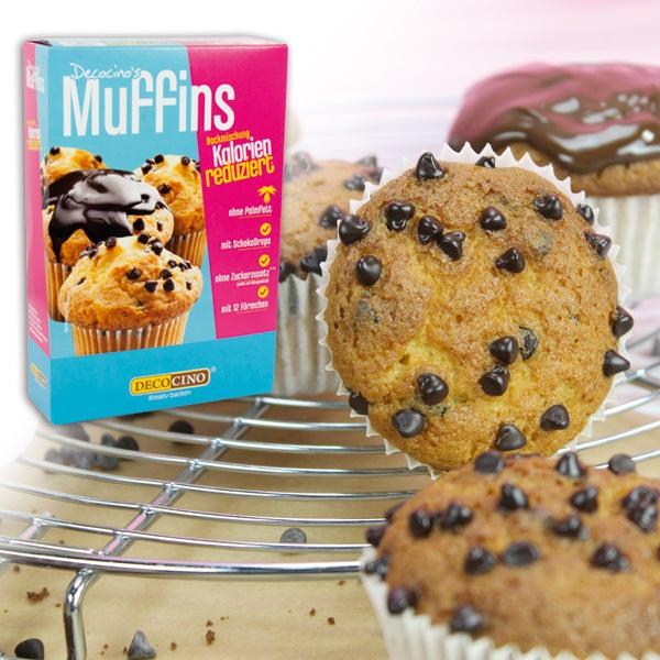 Muffin Backmischung, kalorienreduziert