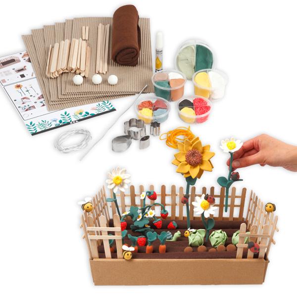 """Clay-Modellierset """"Mein Spielgarten"""""""