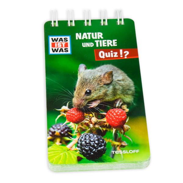 WAS IST WAS Quizblock - Natur und Tiere