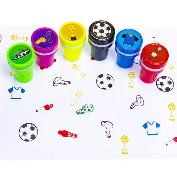 Fußball Stempel, 1 Stk, 4cm, Kinderstempel