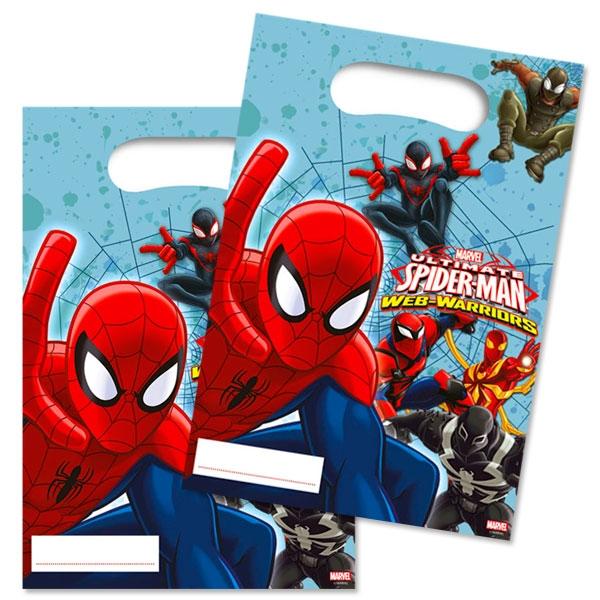Spiderman Geschenktüten 6 Stk.,23cm