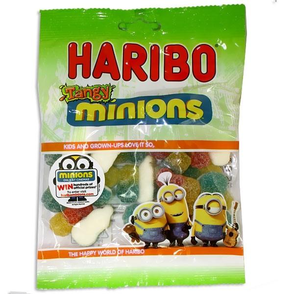 Haribo Minions, Saure Gummibärchen, 150g Pack, Süßigkeit