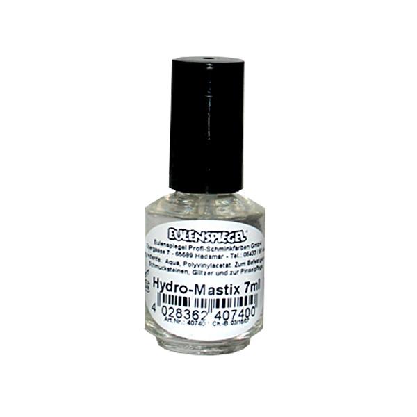 Mastix Hautkleber für Make-Up & Kinderschminken, 7 ml Pinselflasche