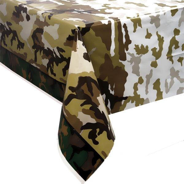 Camouflage Tischdecke-Tarnfarben, 137x213cm
