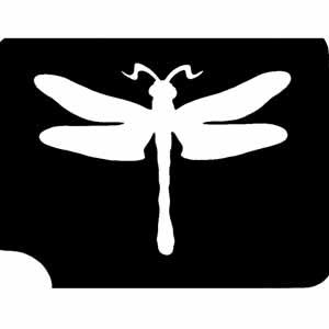 Libelle/Dragonfly-Tattooschablone für alle Naturfreunde, 8x6,5 cm