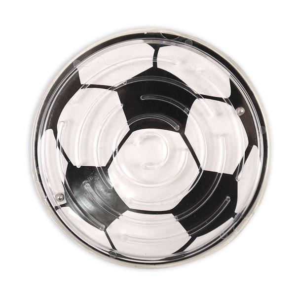Fußball-Geduldspiel, tolles Kugelspiel mit Labyrinth, 1 Stück