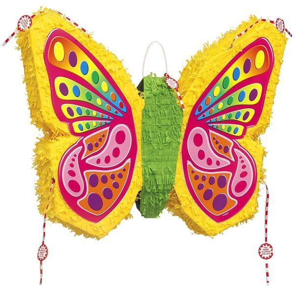 Pinata-Schmetterling für Partyspiele zum Kindergeburtstag/als Partydeko f.Kinder
