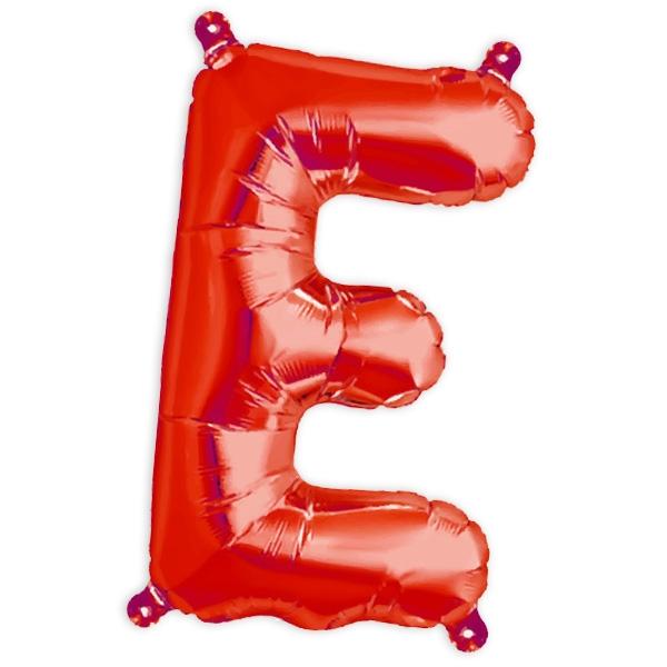 Folienballon Buchstabe E für die Personalisierung in der Deko, 41cm