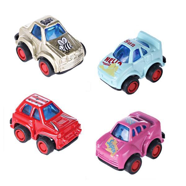 Mini Racer, super flinkes Auto mit starkem Rückziehmotor, au