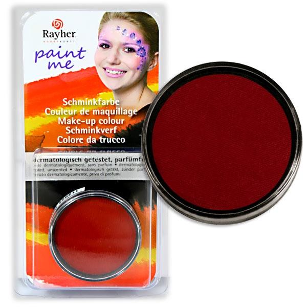 Paint Me - Schminkdose Rot, sehr gut haftend und deckend, schwitzecht, ergiebig