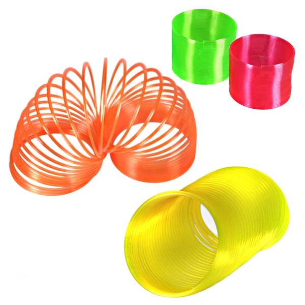 Neon-Spirale als Treppenläufer, 1Stk., Kleinspielzeug für alle Altersklassen