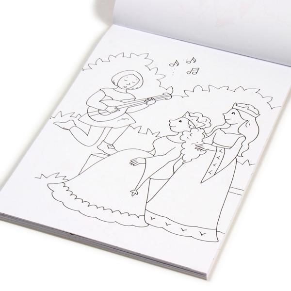 Glitzerzauber Malblock Prinzessinnen