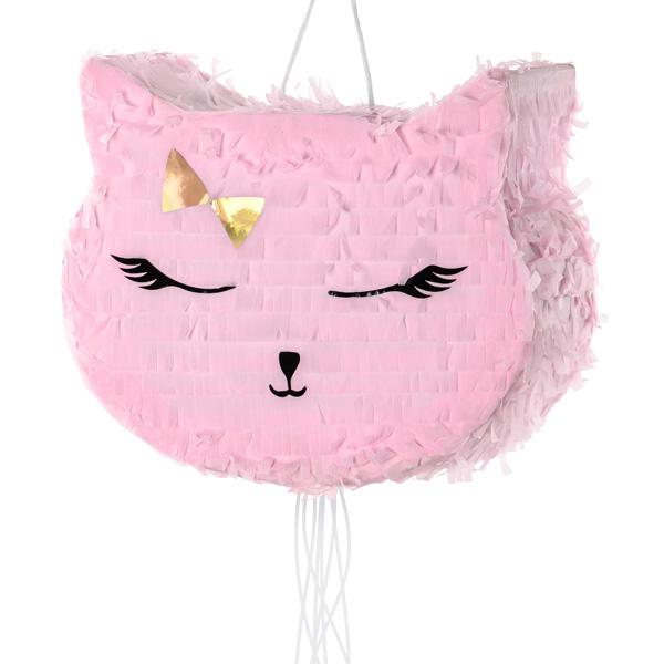 Katzen-Pinata aus Pappe, 35cm x 27cm