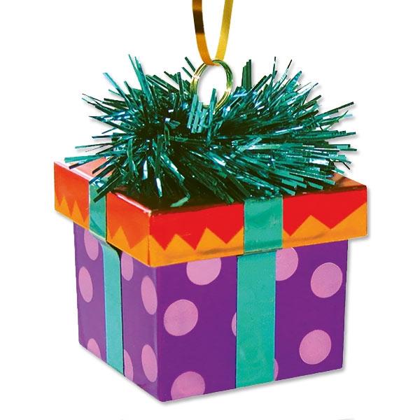 """Ballongewicht """"Geschenk"""", 1 Stk, 6cm"""