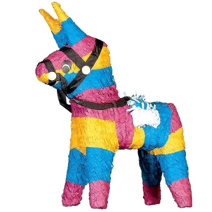 Kindergeburtstags-Pinata: original spanischer Esel, traditionell, 46cm