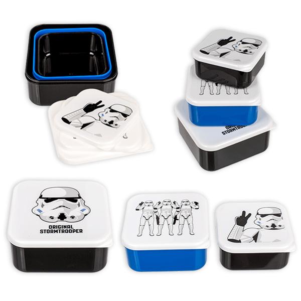 Stormtrooper Brotdosen, im 3er Set