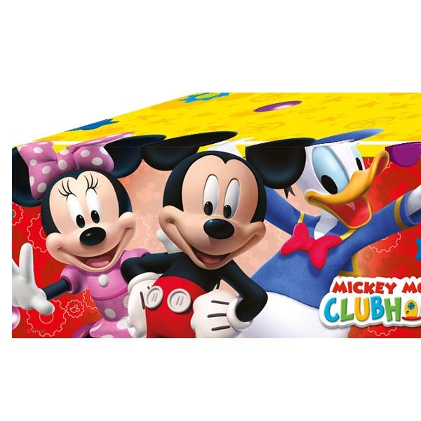 Mickey Maus Tischdecke, 1,2mx1,8m, Partytischdecke für Disney-Fans