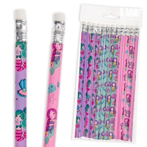 Bleistift, Meerjungfrau, 12er Pck