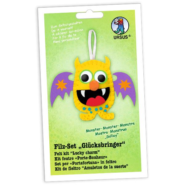 "Filz-Glücksbringer Bastelset ""Monster Sulley"""