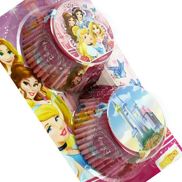 Muffinförmchen Disney Princess, 50 Stück in 2 Designs, für leckere Themen-Muffins