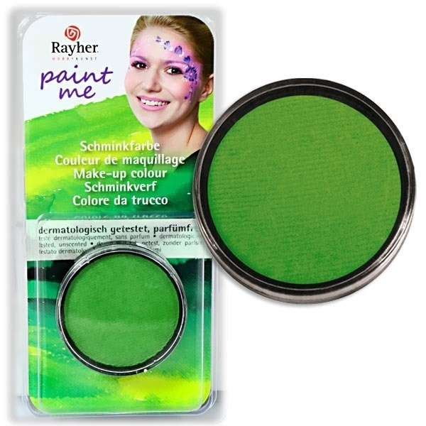 Paint Me - Schminkdose Grün, sehr gut haftend und deckend, schwitzecht, ergiebig