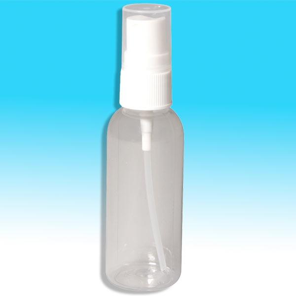 Sprüh-Flasche, 50ml, leer, Schmink-Zubehör mit Pumpzerstäuber