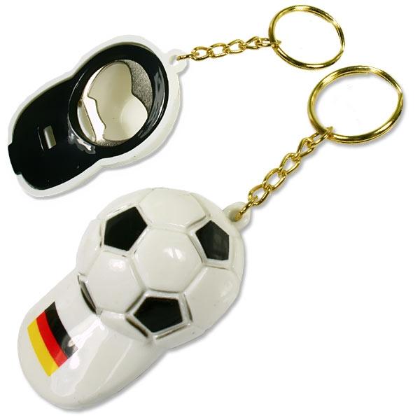 Schlüsselanhänger 2 in 1, Pfeife + Flaschenöffner, 6,8cm