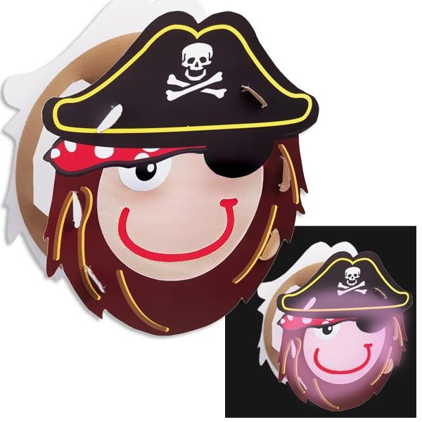 Bastelset Piratenlaterne mit viel Zubehör und Anleitung, 25x26 cm