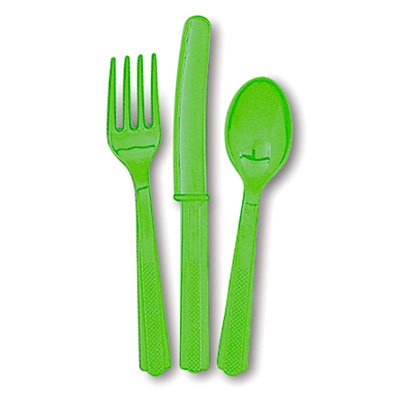 Besteck grasgrün 18-teilig