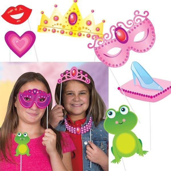 Foto-Requisiten, Princess-Selfies für Fotos zur Prinzessin-Mottoparty