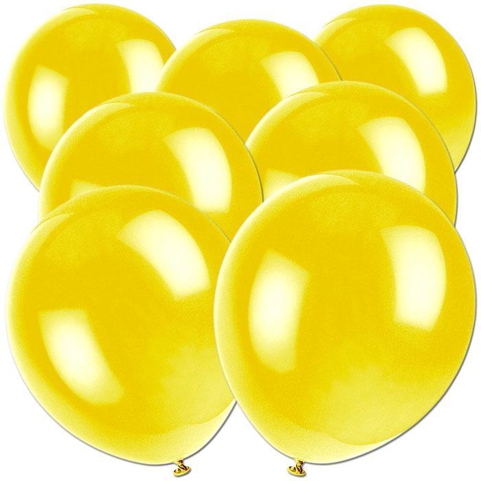 Luftballons zitronengelb 50 Stück