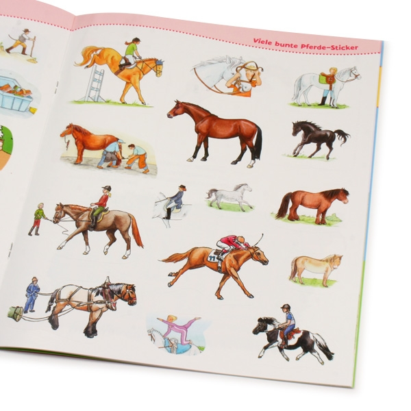 """WAS IST WAS-Mitmach-Heft """"Pferde und Ponys"""""""