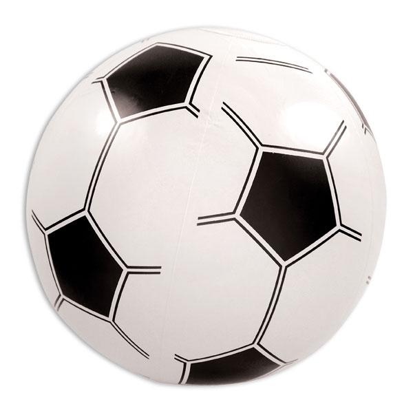 Fussball - aufblasbare Partydeko, Wasserball 40cm