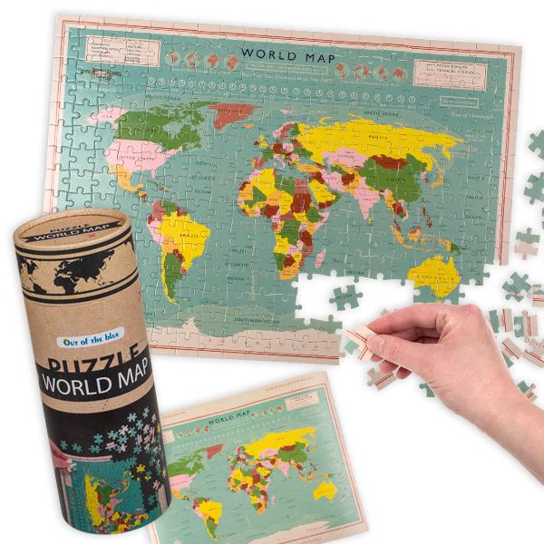 """Puzzespiel """"Weltkarte"""", 300 Teile"""