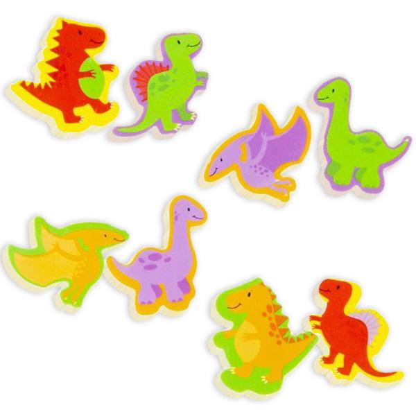 "Radiergummis ""Dinosaurier"", 2er Pack"