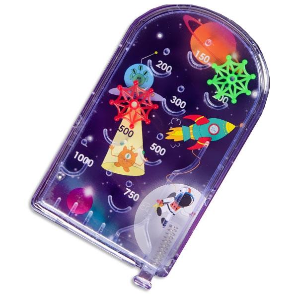 Weltall Flipperspiel, Pinball Spiel Space, 1 Stk, 13,5cm