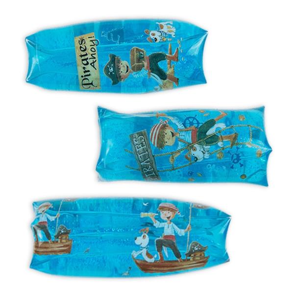 Piraten-Flutschi 13 cm, toller Scherzartikel für Piratenparty, 1 Stück