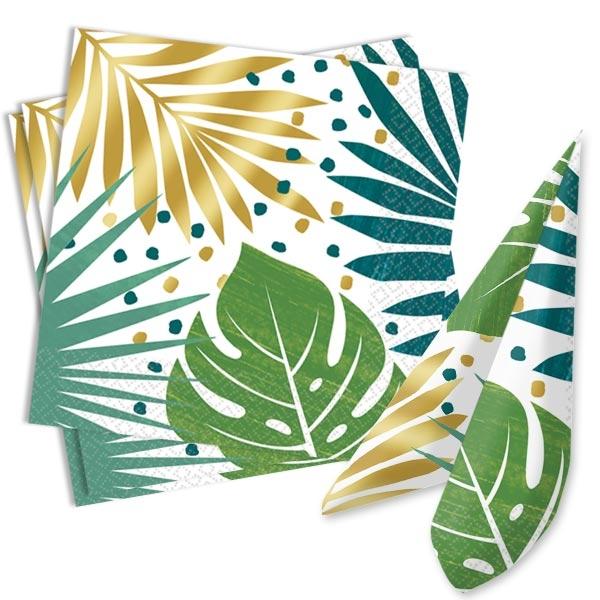 Tropical Summer Papierservietten, 16er, 33cm x 33cm